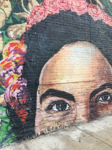 Street Art Outside Pulley Collective