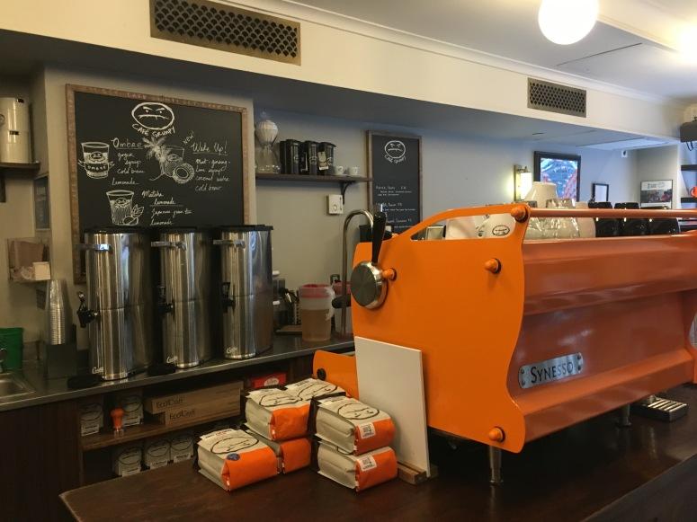 Cafe Grumpy Grand Central Orange