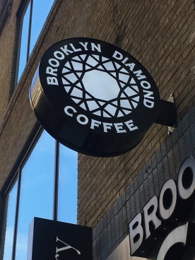 brooklyn diamong sign