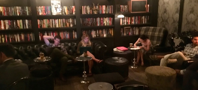coffee library midtown