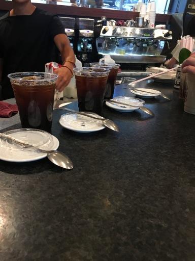 Down Spoon Espresso Counter