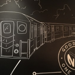 grounds central mural subway car